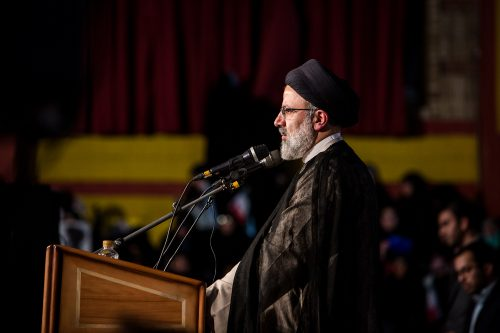 Election Really for Iranian Presidential Candidate Ebrahim Raisi
