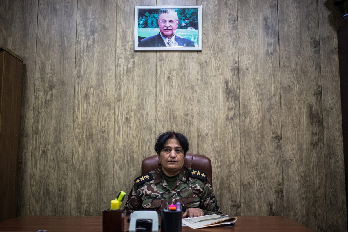 Female Kurdish Peshmerga