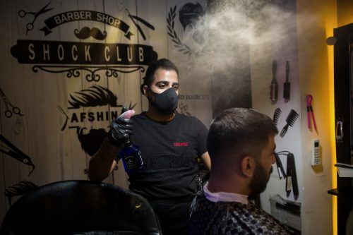 Afshin, The Hairstylist