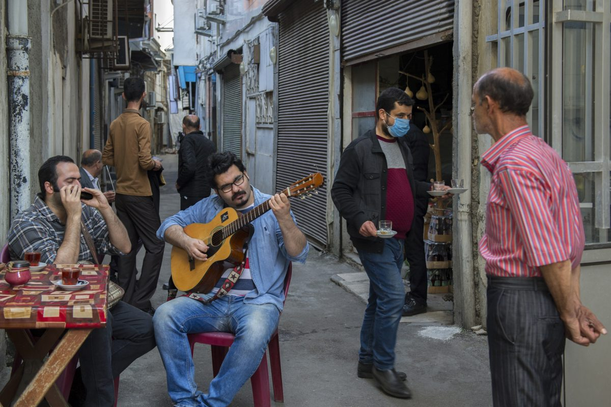 Afraz & Erfan, The Street Musicians