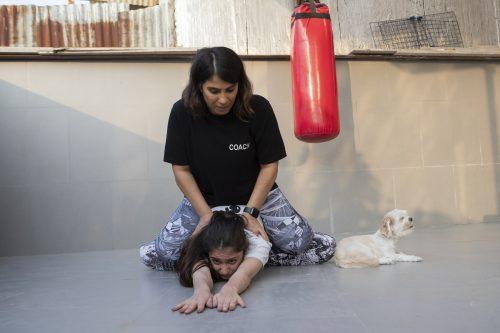 Sanaz, The Kickboxing Coach (Extended)